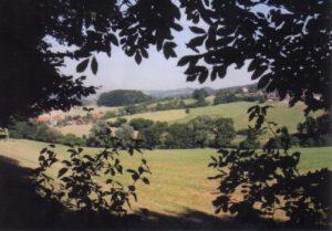 Felder von oben in Luhden